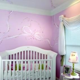 декор детской комнаты фото интерьера