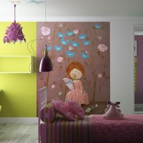 декор детской комнаты интерьер идеи