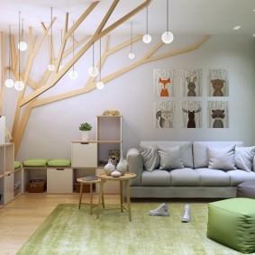 декор детской комнаты идеи интерьер