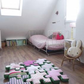 декор детской комнаты варианты фото