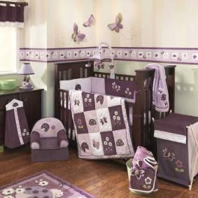 декор детской комнаты фото варианты