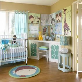 декор детской комнаты фото вариантов