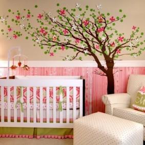 декор детской комнаты идеи фото
