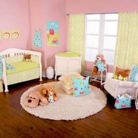 декор детской комнаты виды