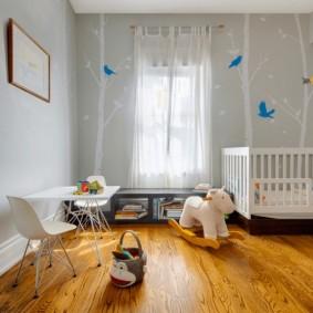 декор детской комнаты виды фото