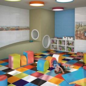 декор детской комнаты виды дизайна