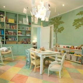 декор детской комнаты виды оформления