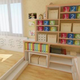 декор детской комнаты фото обзор