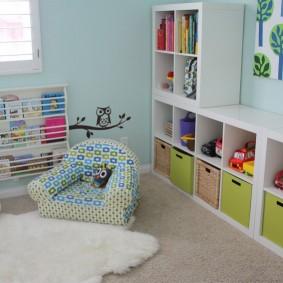 оригинальный декор детской комнаты