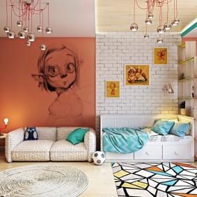декор детской комнаты дизайн