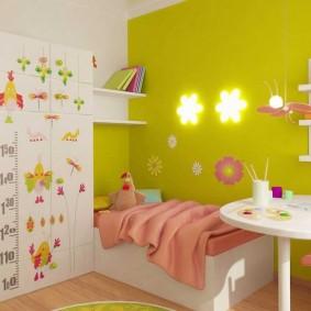 декор детской комнаты дизайн фото