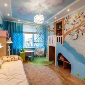 декор детской комнаты фото дизайна