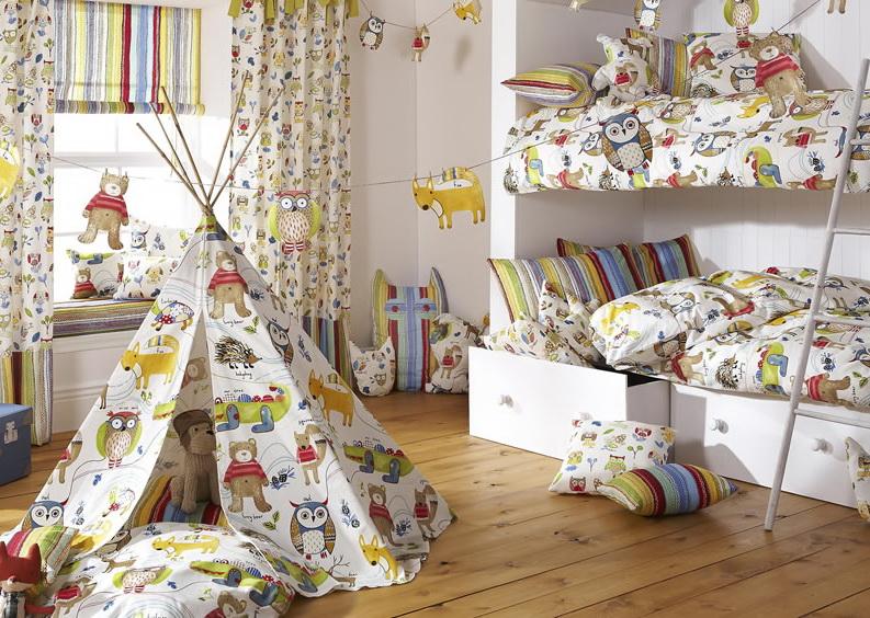 декор детской комнаты фото идеи