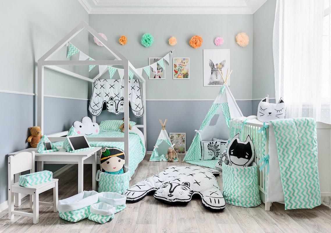 декор детской комнаты своими руками