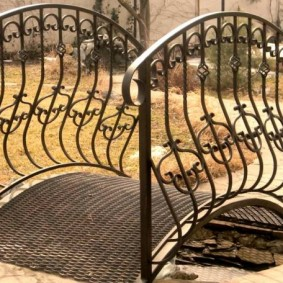 декоративный мостик для дачи идеи дизайна