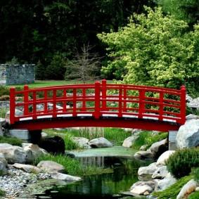 декоративный мостик для дачи фото декора