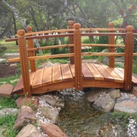 декоративный мостик для дачи фото идеи