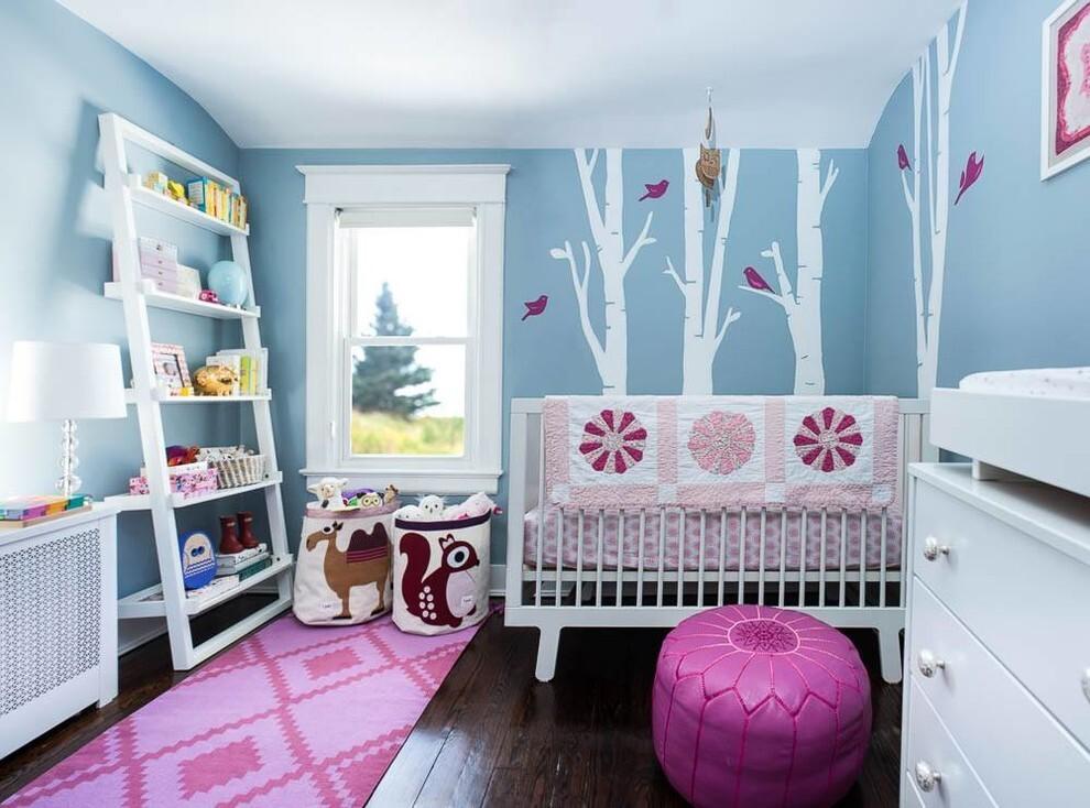 декорирование комнаты для детей