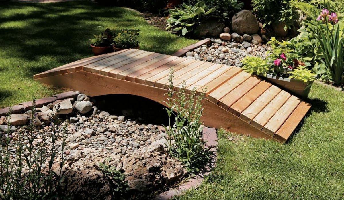 деревянный мостик фото