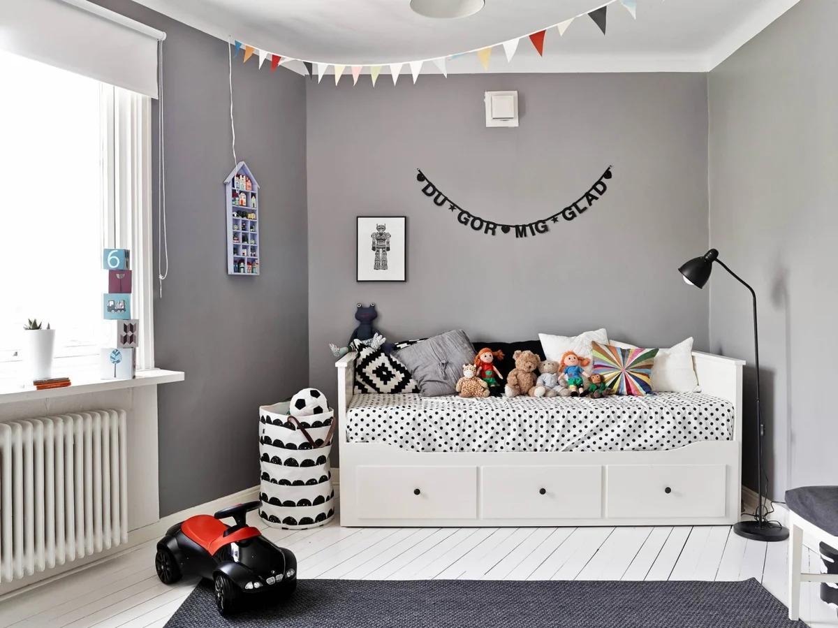 детская комната 9 кв м дизайн интерьера