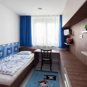 детская комната 10 кв м интерьер фото
