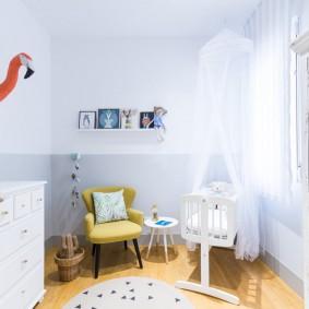 детская комната 10 кв м фото интерьер