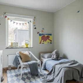 детская комната 10 кв м идеи интерьер