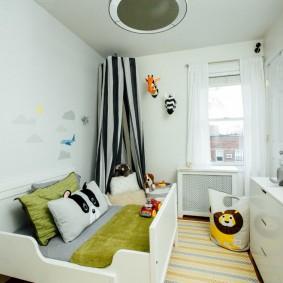 детская комната 10 кв м оформление