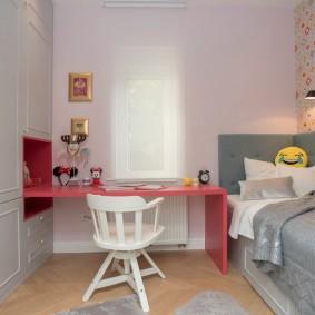 детская комната 10 кв м фото оформление