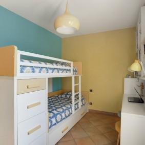 детская комната 10 кв м варианты