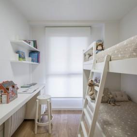 детская комната 10 кв м идеи вариантов