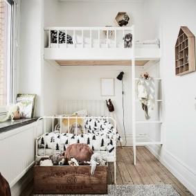 детская комната 10 кв м фото дизайн