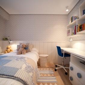 детская комната 10 кв м декор идеи