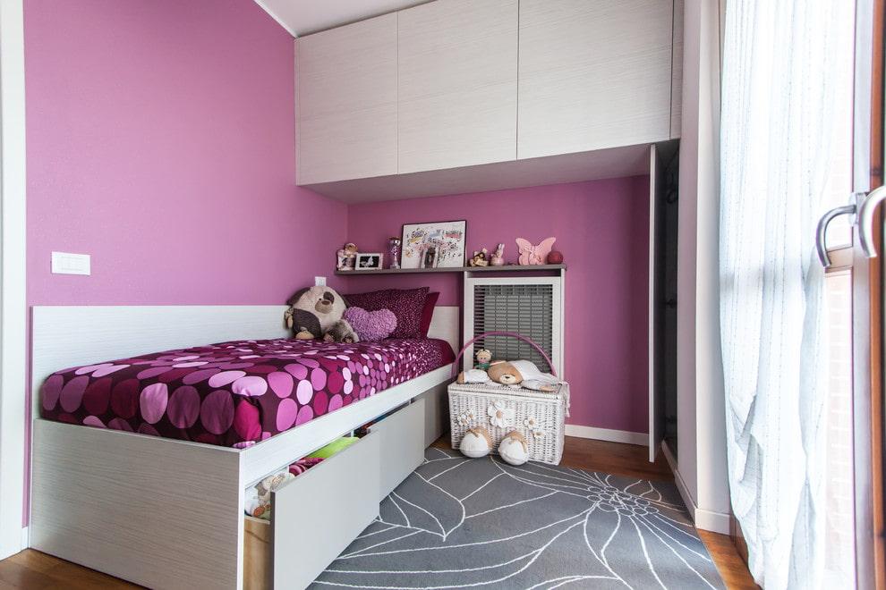 детская комната 10 кв м дизайн фото
