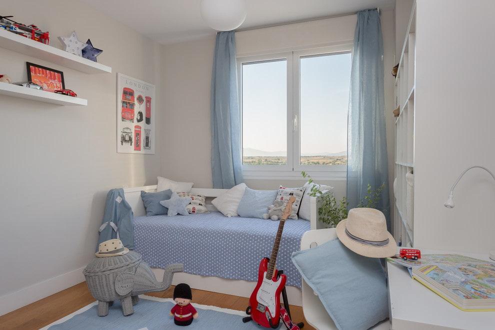 детская комната 10 кв м идеи декора