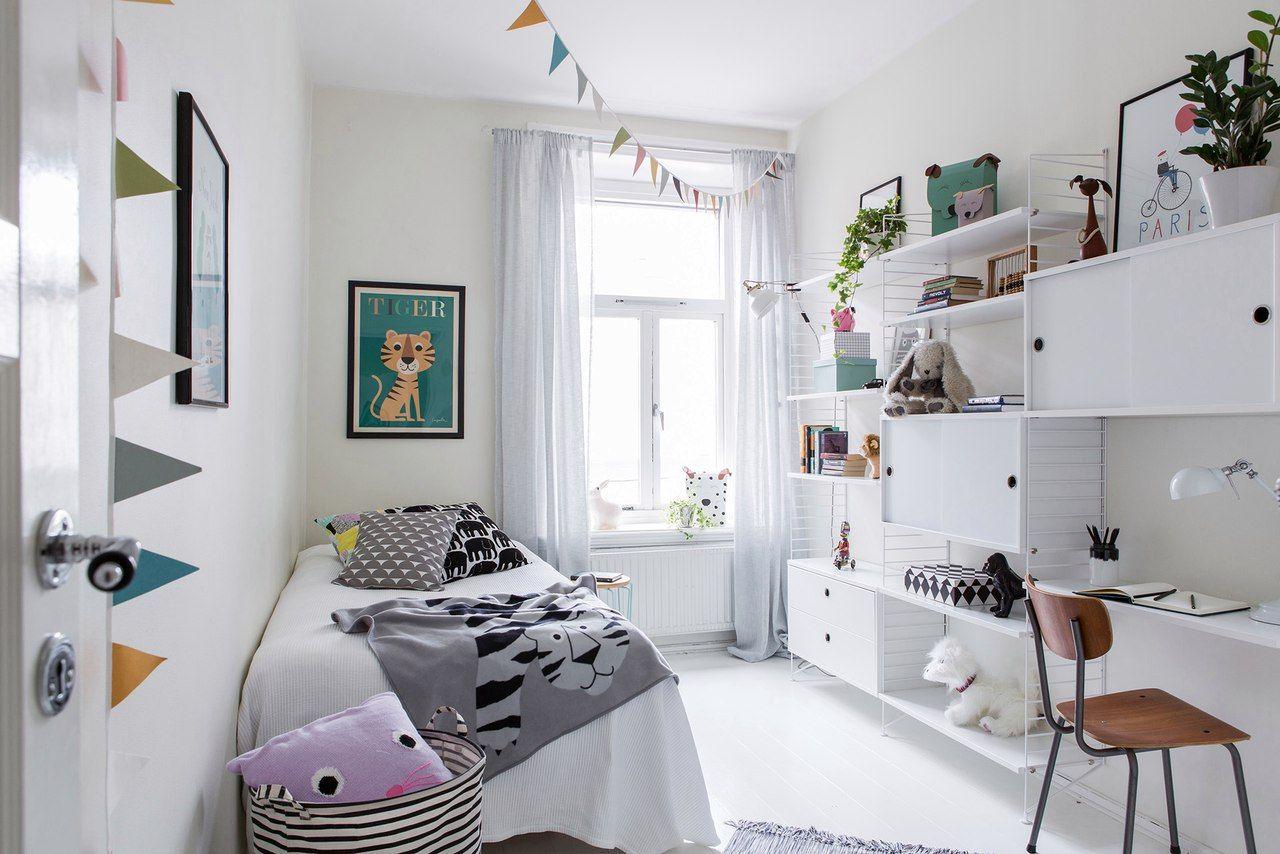 детская комната 10 кв м скандинавский стиль