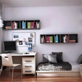 детская комната 3 на 3 современный стиль идеи