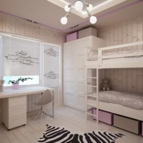 детская комната 8 кв м