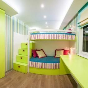 детская комната 8 кв м фото
