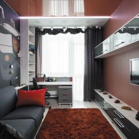 детская комната 8 кв м декор