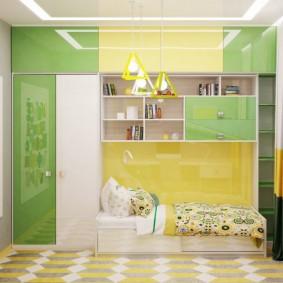 детская комната 8 кв м фото декор