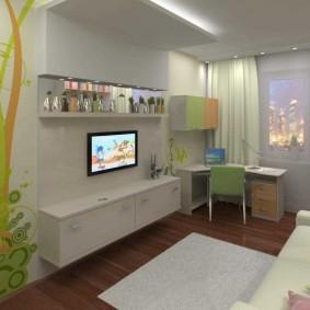 детская комната 8 кв м интерьер