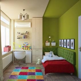 детская комната 8 кв м варианты фото