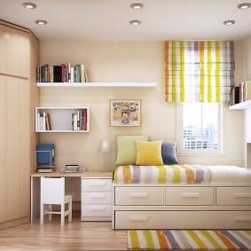 детская комната 8 кв м фото варианты