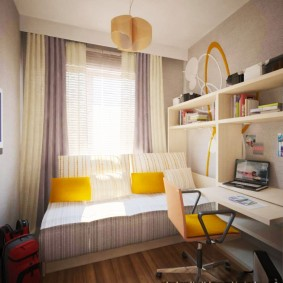 детская комната 8 кв м фото виды