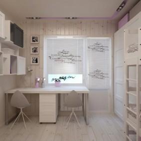 детская комната 8 кв м виды дизайна