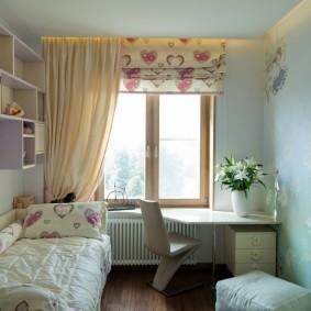 детская комната 8 кв м виды оформления