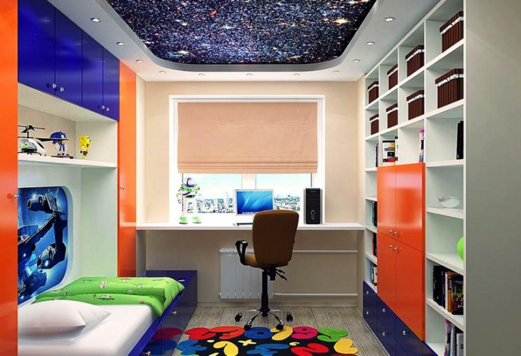 детская комнаты 9 кв м фото обзор