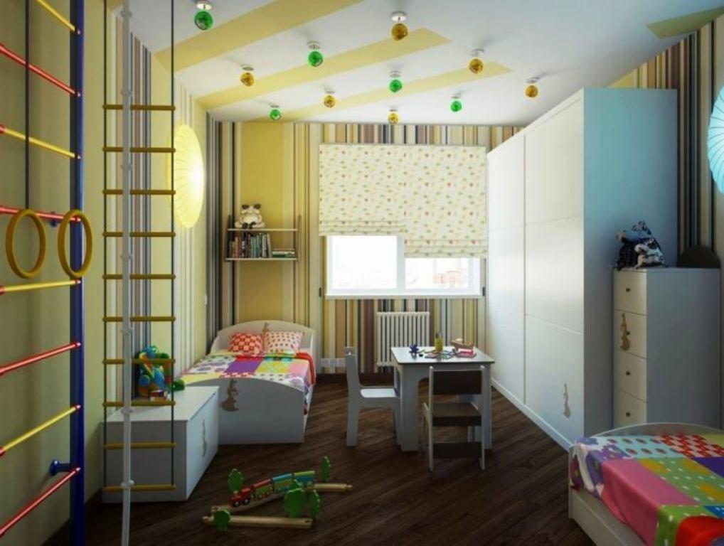 детская комната 9 кв м