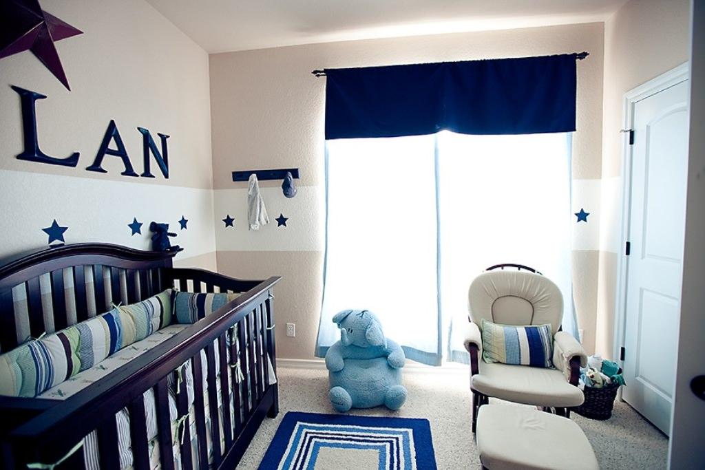 детская комната для новорожденного дизайн идеи